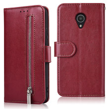 Für Coque Auf Alcatel 1C 1X3 3C 3L 3X Idol 5 5009 5059 5052 5026D 5034D 5086 Fall für Alcatel U5 3G 4G Capa Zipper Wallet Fall(China)