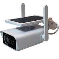 Cámara IP Solar de seguridad para el hogar, sistema de seguridad impermeable con imagen HD de 1080P y 2MP, con Monitor IR y WiFi para exteriores, ONVIF