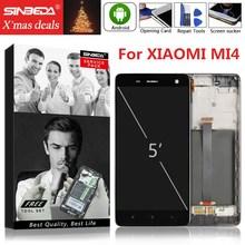 купить 5.0 Original For XIAOMI Mi 4 LCD Display Touch Screen with Frame Digitizer For XIAOMI Mi4 Display For XIAOMI 4 LCD Replacement дешево