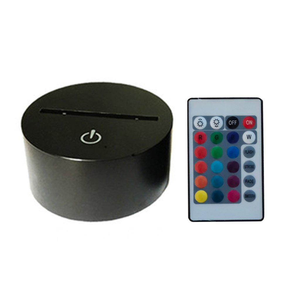 <font><b>Car</b></font> 8 Shape Touch Table Lamp 7 Colors Changing Desk Lamp <font><b>3D</b></font> Lamp <font><b>LED</b></font> <font><b>Night</b></font> <font><b>Light</b></font> Stereoscopic Illumination image