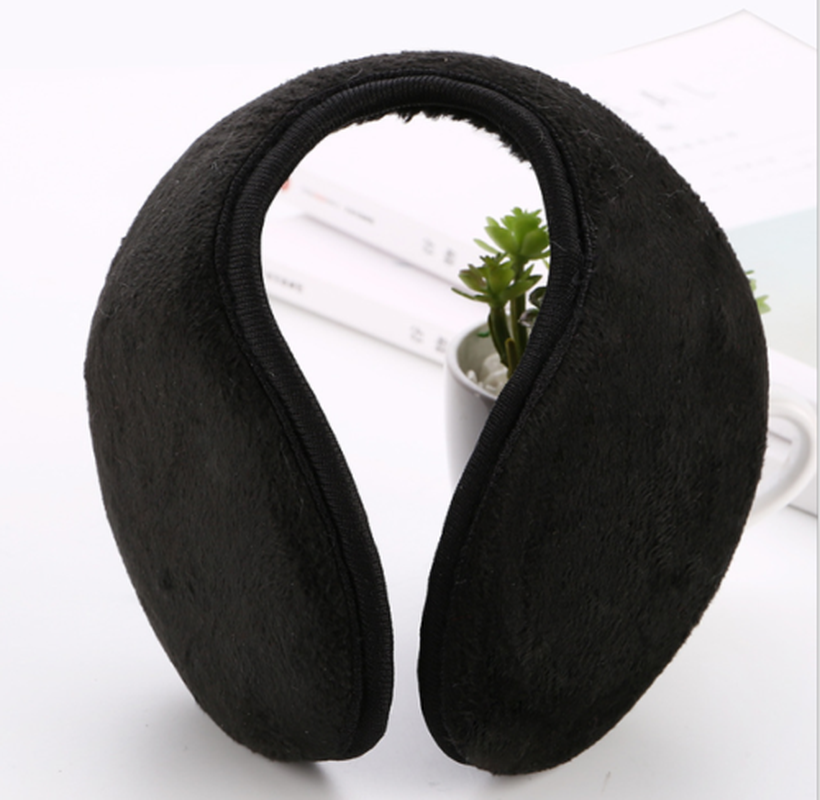 Bawełniane nauszniki miękkie zagęścić pałąk pluszowa osłona uszu Muff Protector Earflap dla mężczyzn kobiety dziewczyny ucha ocieplacz na zimę