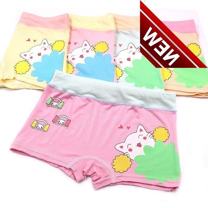 5pcs /lot Girls Underwear Panties Kids Baby Girl Clothes La Reine Des Tends Briefs Woman