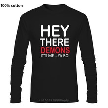 BuzzFeed Unsolved Hey There Demons It Me... Ya Boi Men Long sleeve T-Shirt