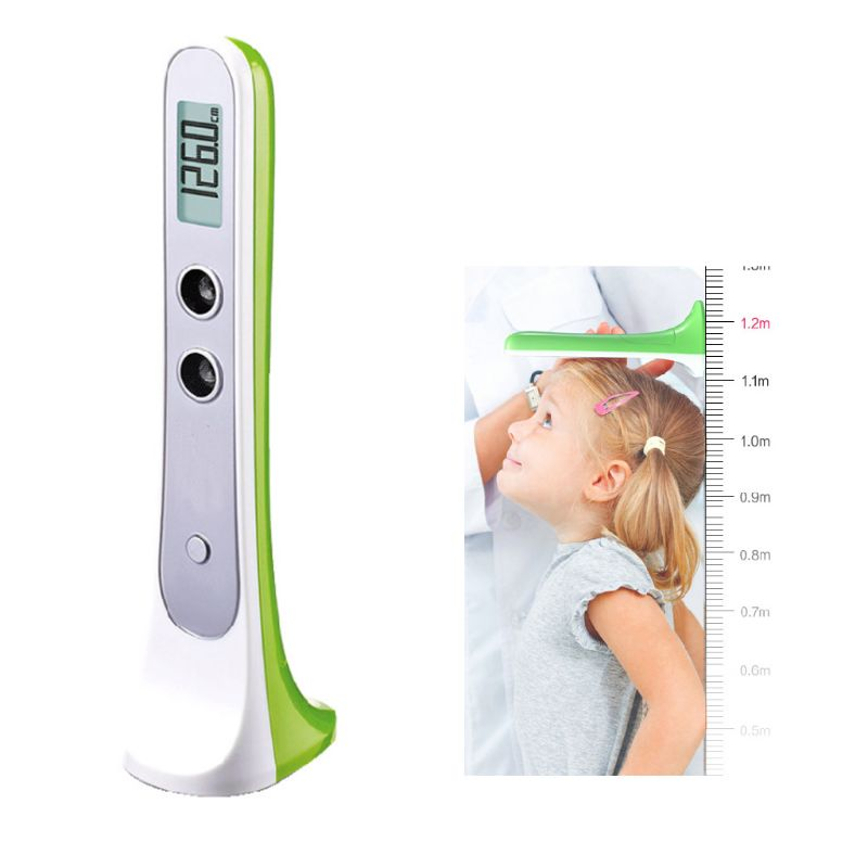 Digital Ultrasonic Height Measuring Ruler Precision Measuring Device Adult Kids 37MD