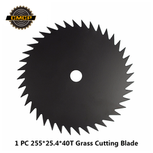 1 шт. 255x25,4x40 T марганцевая сталь, щетка для резки, лезвие для газонокосилки, триммер для травы, лезвие для кустореза, режущий диск, дисковая пила