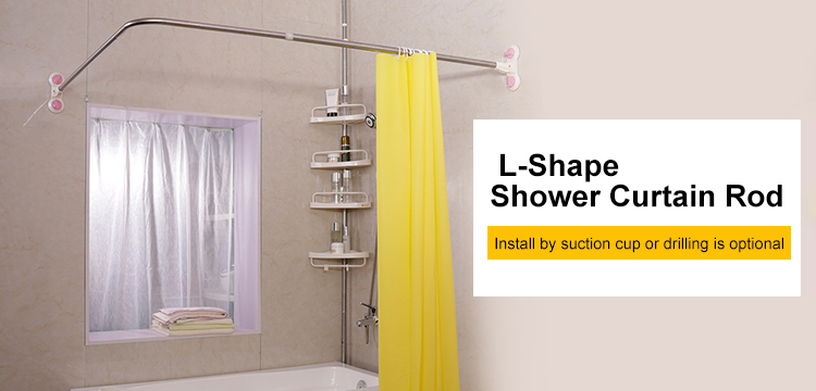 l shaped shower curtain rod suction cups corner bathroom curtain rail bar expandable 40 15 x 46 46 70 87 dq1615 3