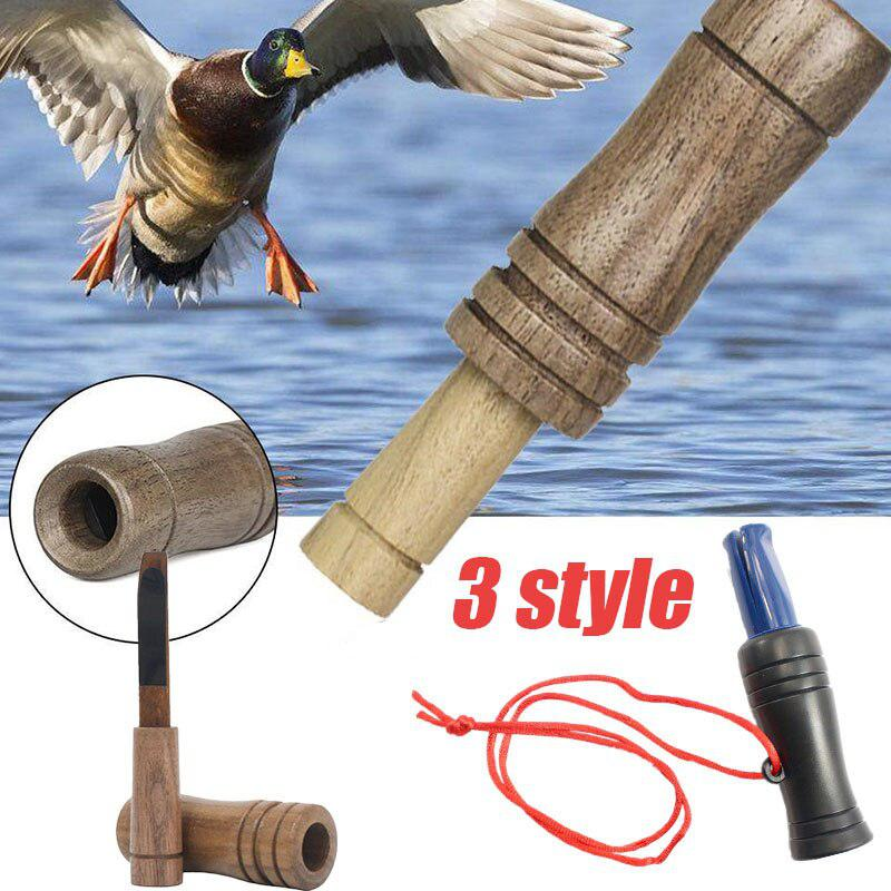 Hot New Hunting Decoy Caller Whistle Duck Call Game Rook Hunter Special Bionic Duck Decoy Hunting Caller Whistle