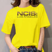 Tees NCIS Tumblr Static NCIS Los Angeles Saison Letter Funky T Shirts women's Short Sleeve T-Shirt Wholesale women's Tee Shirts
