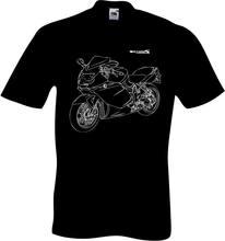 2019 moda k1200s t-camisa mit grafik k 1200s motorcycle rally motorrad fã t camisa