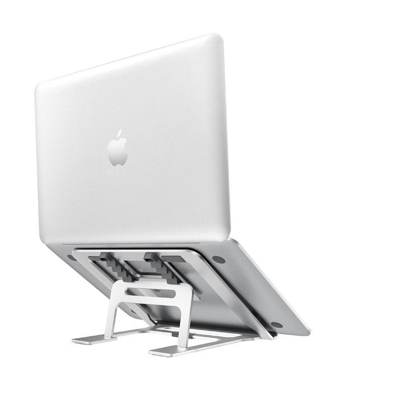 5 Gear Adjustable Aluminum Foldable Laptop Stand Desktop Notebook Holder Desk Laptop Stand For 7-15 Inch Macbook Pro Air