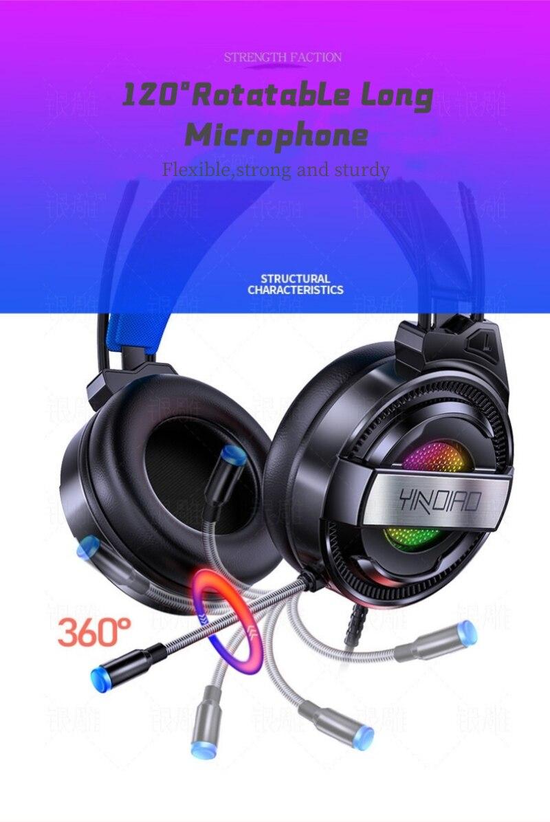 Q3 jogos fones de ouvido surround som