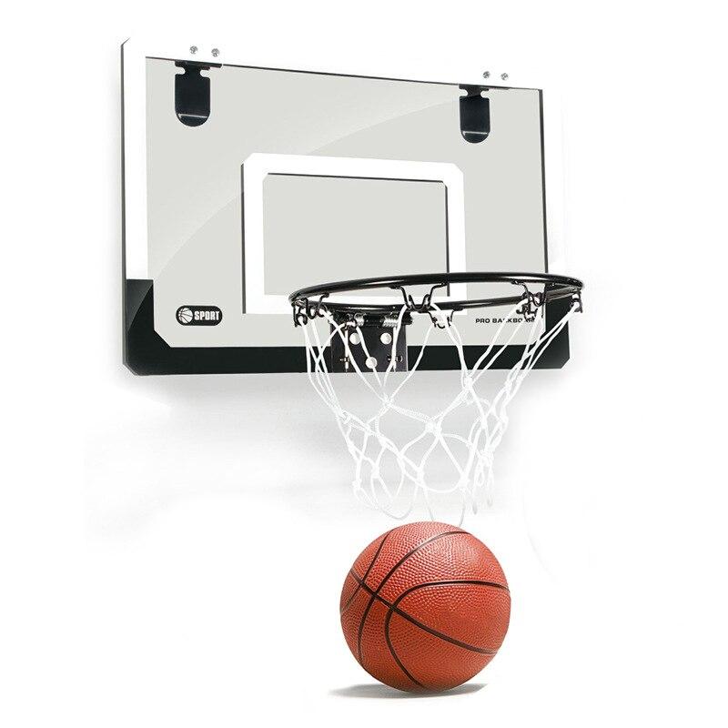Mini basket-Ball cerceau avec balle 18 pouces x 12 pouces incassable panneau arrière unisexe filles garçons en plein air Buitenspeelgo jouets pour enfants