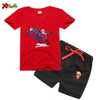 Henry Danger T Shirt clothing set boys tshirt 2020 Kid Danger T-Shirt Big Man Graphic Tee Shirt summer Short Sleeve Print Tshirt фото