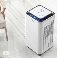 (38db) 23.5L Air Dehumidifier High Power Mute Household Indoor Basement Industry Workshop Warehouse Villa High Power|Dehumidifiers| |  -
