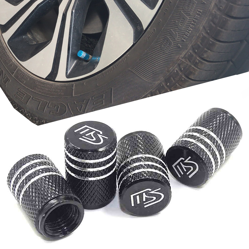 Car Tires Wheel Valve Cap Dust Cover Auto Styling For Mazda Speed Mazdaspeed 2 3 6 CX-3 CX-4 CX-5 CX-7 CX-8 Atenza Axela AutoExe