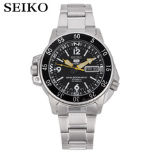 Seiko montre bracelet automatique pour hommes 5, de marque de luxe, étanche, de Sport et de plongée, SNK