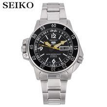Часы seiko мужские с 5 автоматическими часами брендовые водонепроницаемые
