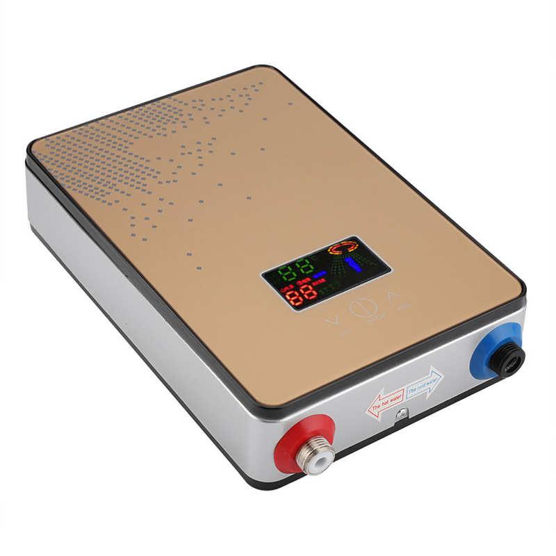 220v 6500w электрический водонагреватель сенсорный Управление