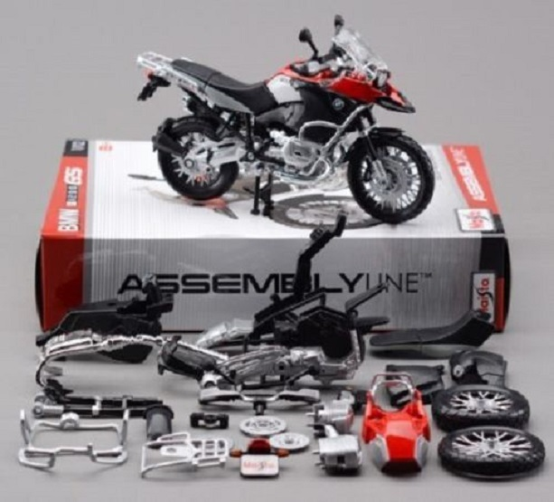 Maisto 1:12 BMW R1200GS Assemble DIY Motorcycle Bike Model Toy New In Box(China)