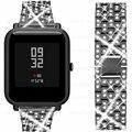 Luxuriöse Uhr Strap Für Huami Amazfit Bip Handgelenk Strap Armband Für Amazfit gts gtr 42mm Armband 20mm Metall edelstahl-in Cleveres Zubehör aus Verbraucherelektronik bei