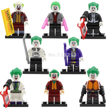 Single Sale Joker Figure Movie Prisoner Suicide Squad Batman DC Super Hero Building Blocks Sets Models Toys Legoing KF6110