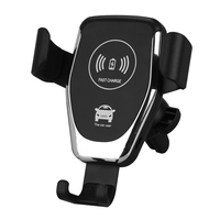 Car Wireless Charger 10W Fast Charging Stand for iphone 8 plus X XS Samsung S8 S9 Fast Charger Phone Holder for Xiaomi huawei|Wireless Chargers| |  -