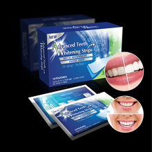 14 шт/7 пар 28 шт/14 пар 3D гель Отбеливание зубов полоски белый зубной набор гигиена полости рта уход за полостью зубов виниры