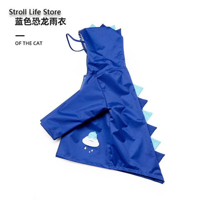 Cute Girl's Waterproof Raincoat Kids Rain Poncho Pink Dinosaur Long Clear Rain Coat Jacket Capa De Chuva Rain Suit Gear Gift 4
