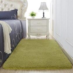 Tapete macio da caxemira do cordeiro da esteira do assoalho do retângulo dos tapetes do luxuoso para o quarto de cabeceira sala estar sofá da mesa cobertor
