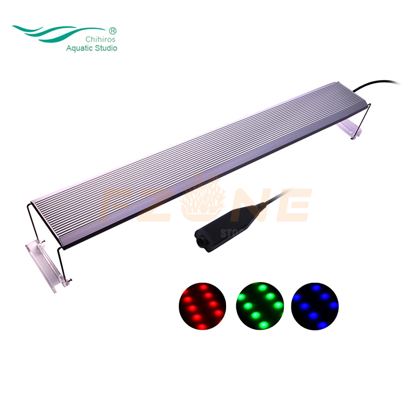 90-120cm Chihiros RGB A Plus Series App Controlled Aqaurium RGB LED Light With 3 Dim Channel ADA Style For Aquarium LED Light