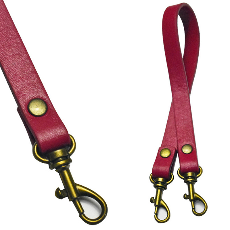 38cm Leather Shoulder Handbag Purse Strap Handle Replacement Bag Accessory Solid Color Belts White DIY Handbag PU Leather Strap