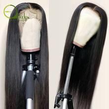 Грубые прямые кружевные передние человеческие волосы парики предварительно сорванные 13*4*1 части шнурка парики человеческих волос Remy фронт...