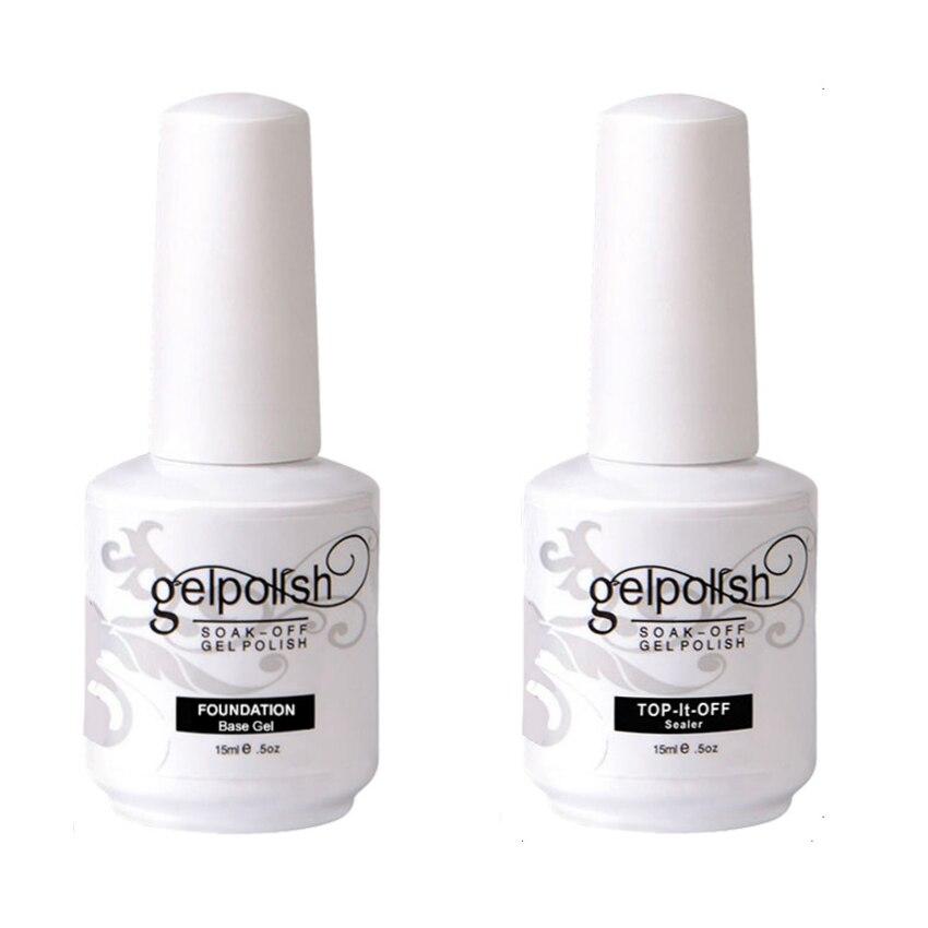 Kismart Gel Nail Polish 15ml For Salon Gel Lak Soak Off Nail Gel Varnish Nail Art Manicure Gel Polish Top Coat Base Gel Polish