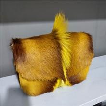2021 New Fashion Fur Handbag Antelope Wool Envelope Bag Imported Female Bag Shoulder Messenger Bag High-End Light Luxury