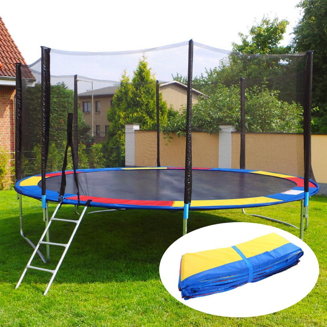 Replacement Trampoline Thicken Safety Pad Spring Cover Waterproof Cover Round Spring Trampoline Pad PVC Material environmental
