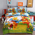 Поросенок Тигр Винни Пух постельное белье Twin Size постельный комплект для детей декор для спальни детское одеяло пододеяльники Queen 3/4 шт