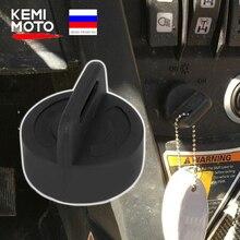 ATV kontak anahtarı kapağı Keyswitch için kauçuk koruyucu Polaris sporcu Scrambler siyah Trail Boss Can Am Outlander MAX