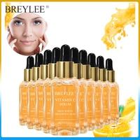 BREYLEE Vitamin C Whitening Serum Hyaluronic Acid Face Brighten Dark Spots Freckle Facial Anti Treatment Liquid Skin Care 10PCS