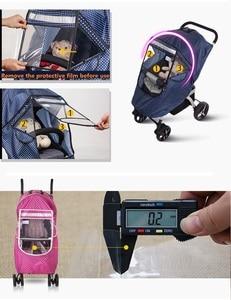 Image 5 - Дождевик для детской коляски, чехол для тележки, дождевик для коляски, снежное ветровое стекло