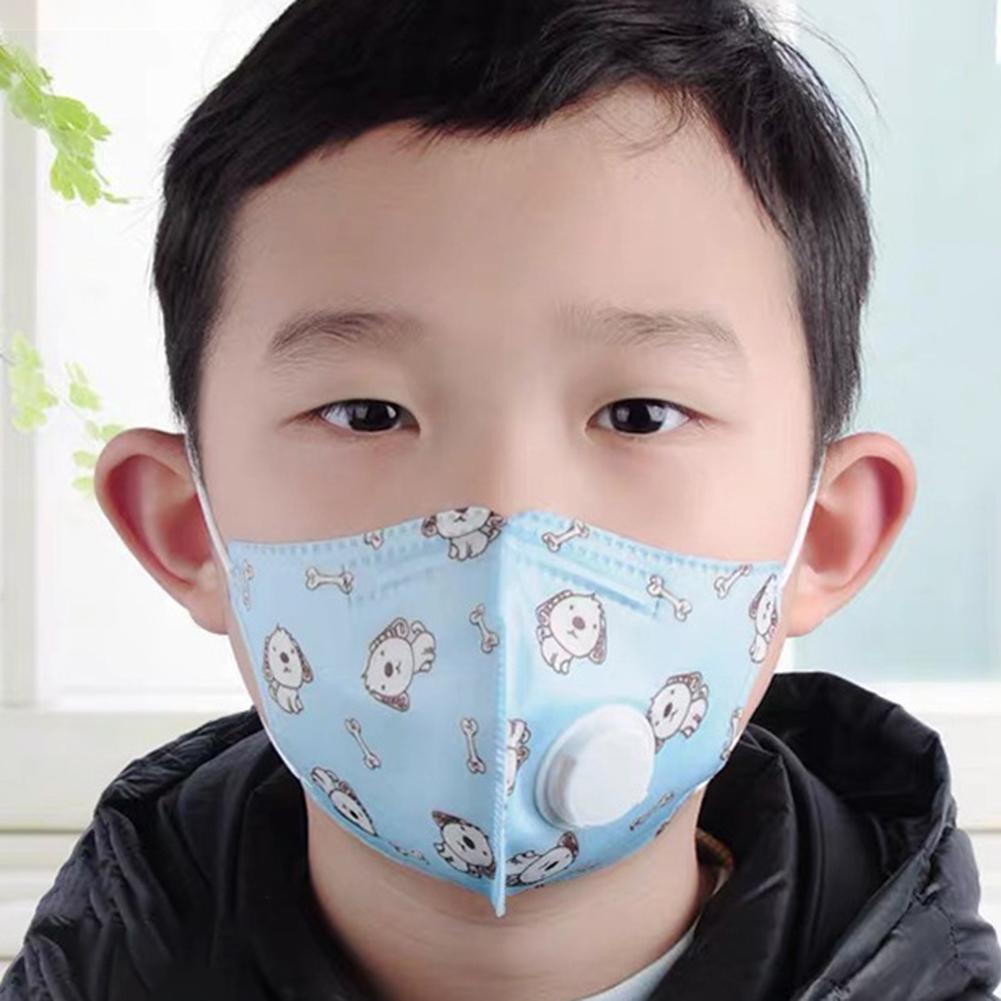 Children's Mask 5-layer Activated Carbon Filter Insert Prevent Saliva Droplets Transmission Dust Respirator PM2.5 Anti-pollution