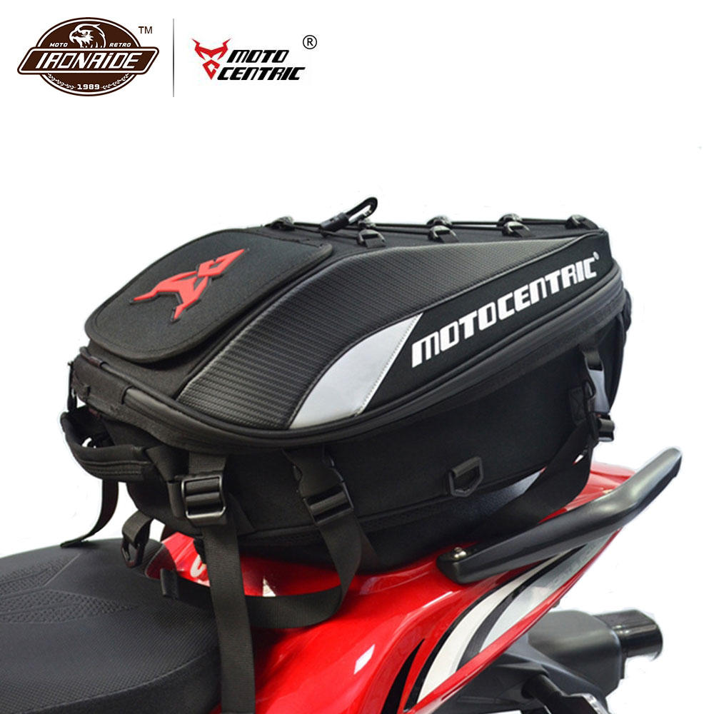 MOTOCENTRIC Motorcycle Bag Waterproof Mochila Moto Motorcycle Tank Bag Motorcycle Backpack Multi-functional Tail Bag 4 Colour