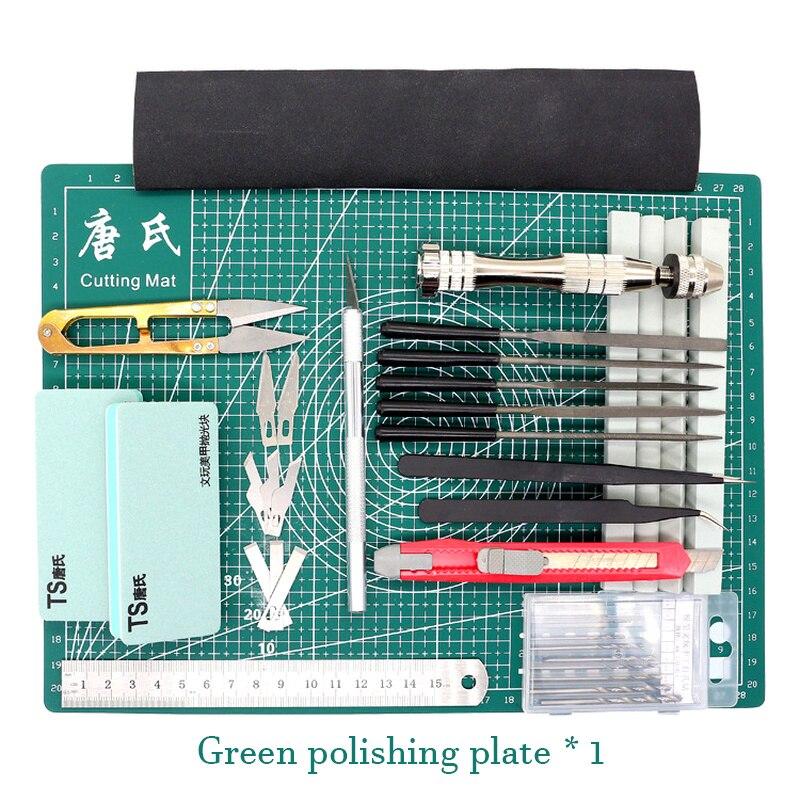 Grade linhas auto cura tapete de corte artesanato cartão de tecido de couro placa de papel manual modelagem componentes pvc esteira lápis faca ferramenta