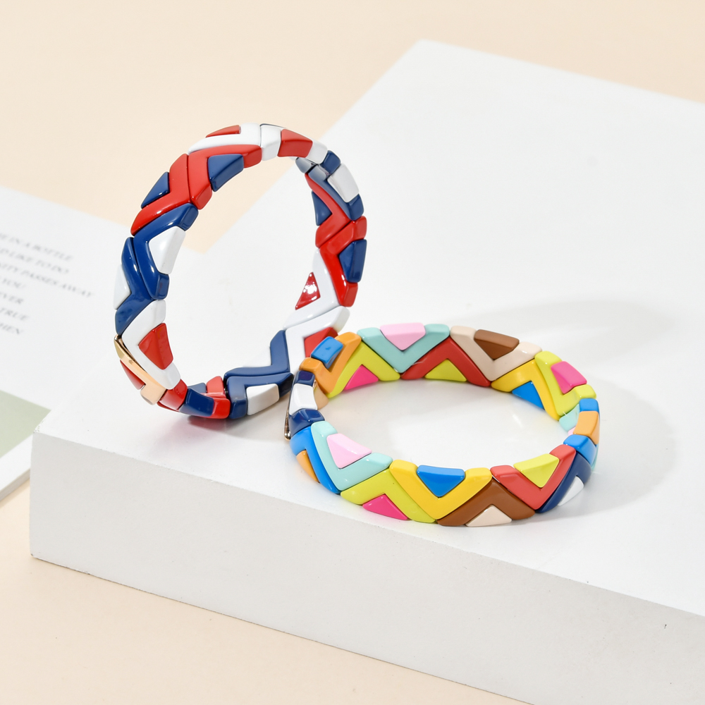 Boho New Bracelet European Punk Adjustable Bracelets & Bangles Women Wave Fashion Charm pulseras Metal Braided Party Jewelry