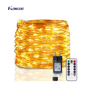 5M-120M LED String Lights Garland Street Fairy Lamps Christmas Led Outdoor Remote For Patio Garden Home Tree Wedding Decoration 1