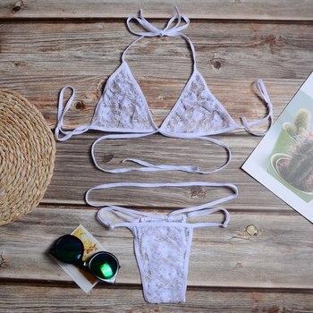 SFIT Female Sexy Bikini Sets Swimwear Women's Swimsuits Woman Lace Swimsuits Cool Swimsets Beachwear Women's Bikini 2019 4