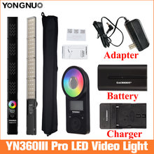 Yongnuo yn360 iii pro светодиодный светильник для видеосъемки