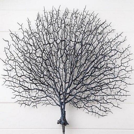 Искусственный Коралл филиал моделирования поддельные древовидные ветви сухое декративное растение белый завод дома Свадебные украшения вечерние поставки - Цвет: A2
