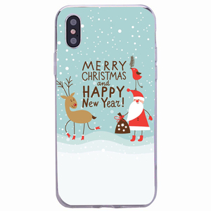 Image 3 - Vrolijk Kerstfeest Case Voor Xiaomi Redmi Note 9S 9 Pro Max 8 8A 9A 6A Silicone Cover Soft Voor iphone 11 Pro Max 6 7 8 Se 2020 Capa