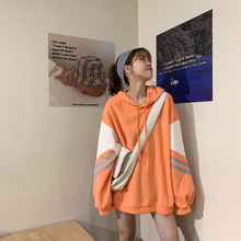 Флисовый лоскутный топ с капюшоном Женская толстовка ropa mujer