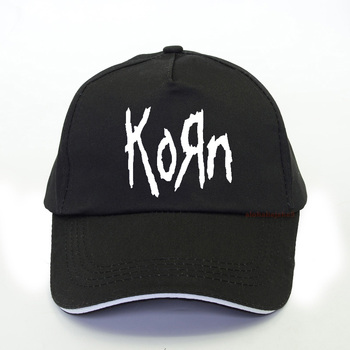 цена Korn Metal Rock band Logo Graphic baseball cap Hip Hop Mens Dad hat summer fashion Korn rock Fan hat snapback gorras hombre онлайн в 2017 году